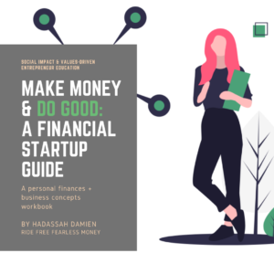 Make Money and Do Good: A Small Business Startup Guide cover